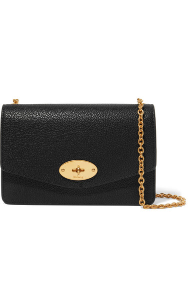 a35c5c0f5a Mulberry. Darley small textured-leather shoulder bag