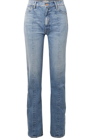 Tre Billie zweifarbige Boyfriend-Jeans