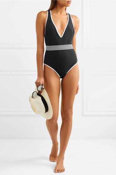 Spielraum Großer Rabatt Diane von Furstenberg Badeanzug mit Gürtel Günstiges Shop-Angebot S2IHmVqgyE