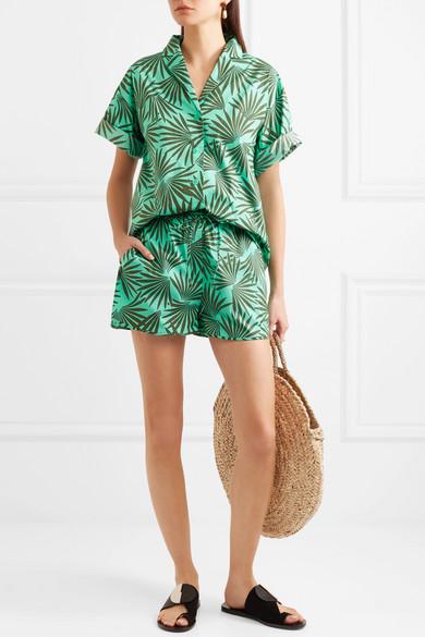 Diane von Furstenberg Hemd aus einer bedruckten Baumwollmischung