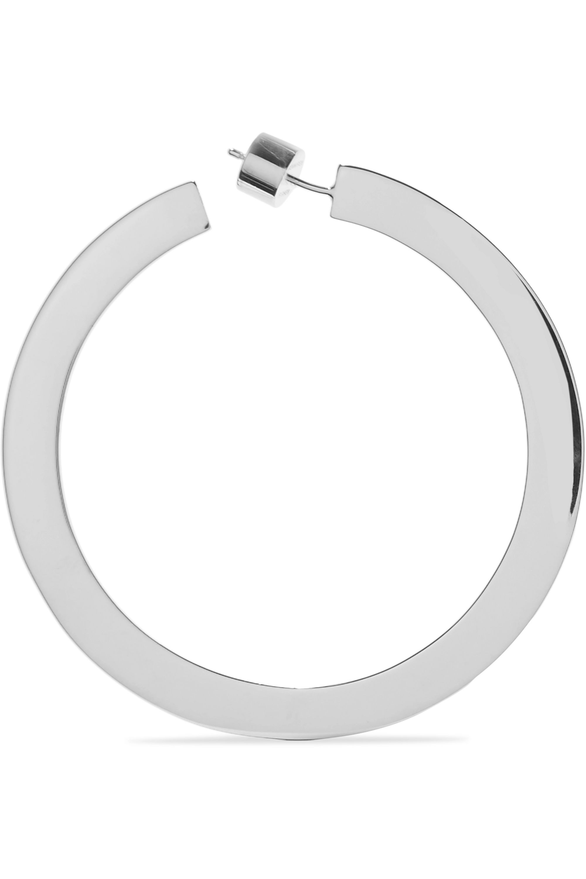 Jennifer Fisher Drew silver-plated hoop earrings