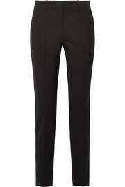 Testra wool-blend crepe slim-leg pants