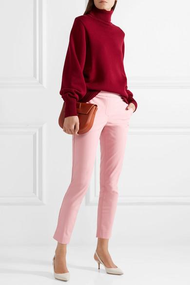 Theory Thaniel verkürzte Hose mit geradem Bein aus Twill aus einer Stretch-Baumwollmischung Freies Verschiffen Hohe Qualität Billig Verkauf Outlet-Store Verkaufskosten Neue Online xneZmFEo
