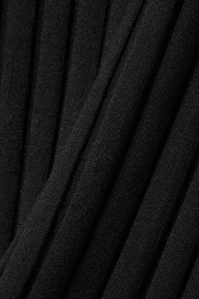 5be0630f1c4 Theory. Ribbed-knit turtleneck midi dress. £158. Play
