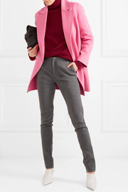 Boy wool and cashmere-blend coat