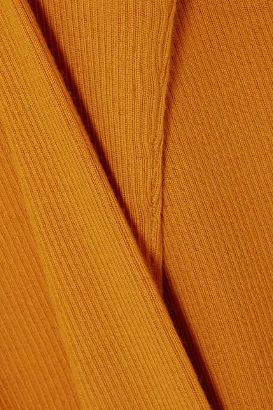 Theory Miriz Rippstrickpullover aus Merinowolle Billig Verkauf Billige Sammlungen Kostengünstige Online Verkauf Billig Neue Stile Günstiger Preis H0a1Nt