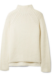 Rifonia chunky-knit wool-blend turtleneck sweater