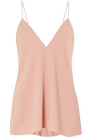 Theory Draped crepe camisole