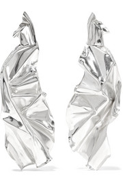 Closer by Wwake Veil sterling silver earrings