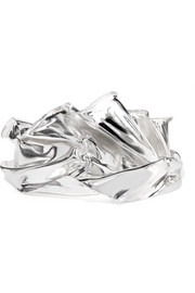 Wwake Closer by Wwake Veil sterling silver cuff