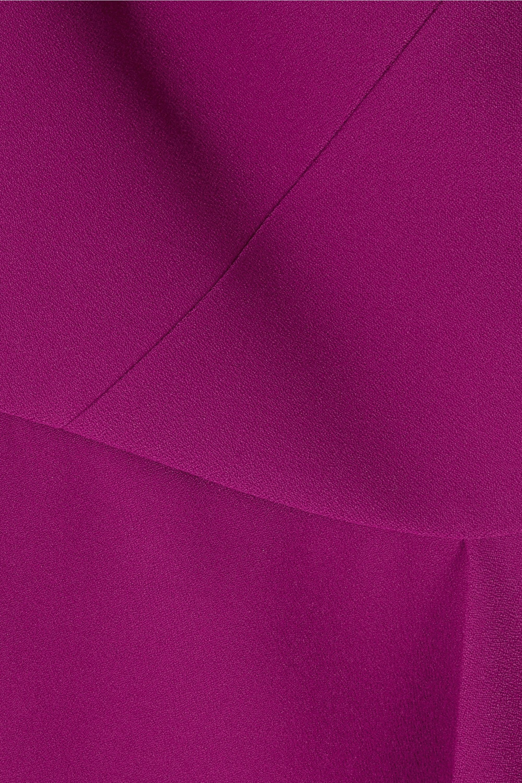 Roland Mouret Almeley asymmetric crepe top