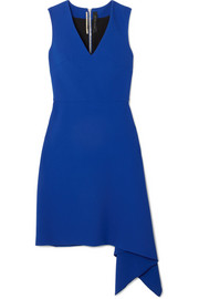 Roland Mouret Aylsham asymmetric crepe mini dress