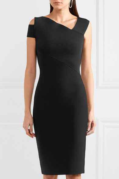 Roland Mouret Barnsley Kleid aus Stretch-Strick mit Cut-out