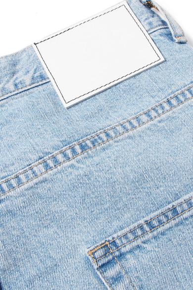 Bassike Super Lo Slung verkürzte Jeans