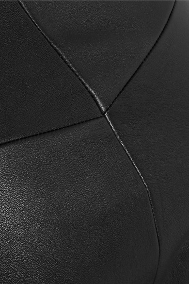 Bassike Eng geschnittene Hose aus Leder