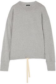 Organic cotton-jersey sweatshirt