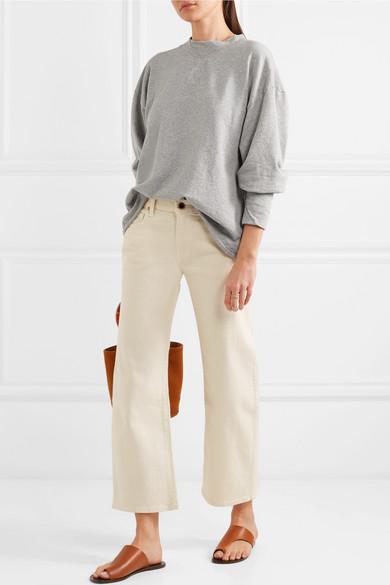 Bassike Sweatshirt aus Bio-Baumwoll-Jersey