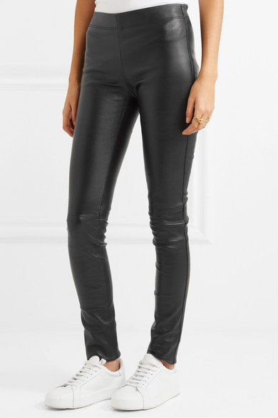 Joseph Leggings aus Stretch-Leder