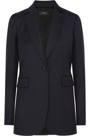 Laurent wool-twill blazer