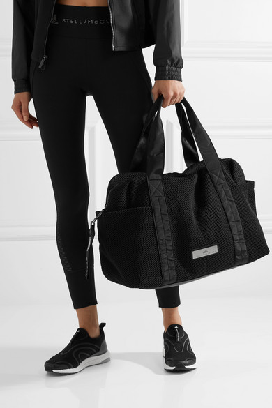561c8204ee80 adidas by Stella McCartney. Shipshape mesh gym bag