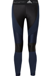 Mesh-paneled Climalite stretch leggings