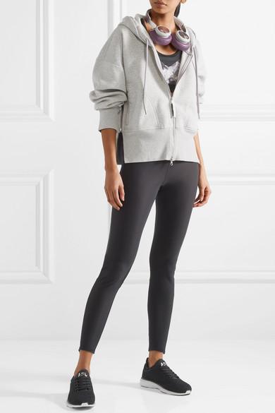 adidas by Stella McCartney Essentials Kapuzenoberteil aus Fleece aus einer Bio-Baumwollmischung