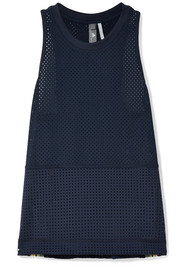 Striped Climacool stretch-mesh tank