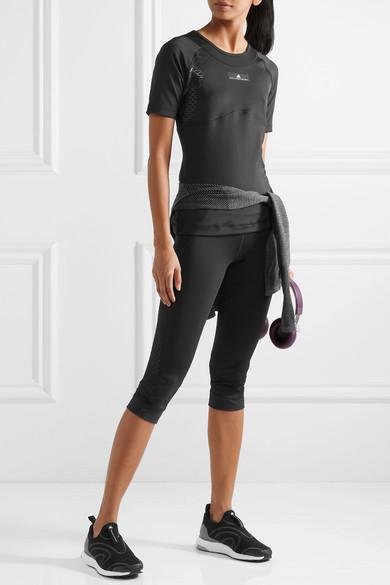 adidas by Stella McCartney Ultimate Oberteil aus Climacool®-Stretch-Material mit Mesh-Einsatz