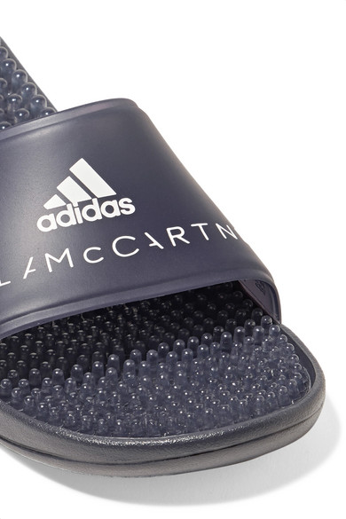 d8e7152308f0 adidas by Stella McCartney. Logo-printed rubber slides. £54.17 £37.9230%  OFF. Zoom In