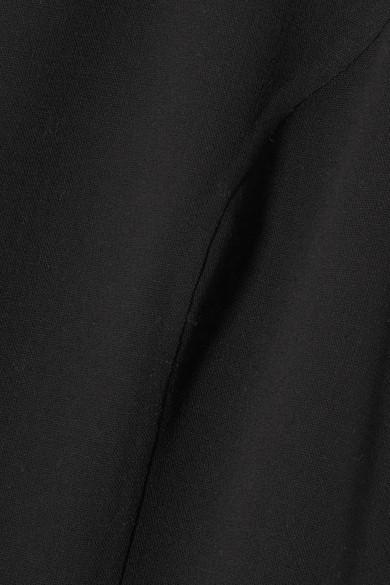 aus Kors aus G眉rtel einer Cr锚pe Michael Collection mit Robe Wollmischung BtPx7BZq