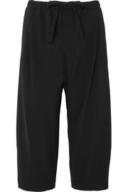 Michael Kors Collection Cropped wool wide-leg pants