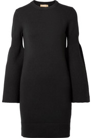 Cashmere-blend dress