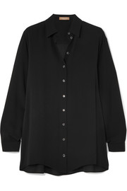 Michael Kors Collection Silk-georgette shirt