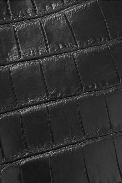 Little Liffner Tote aus Leder mit Krokodileffekt