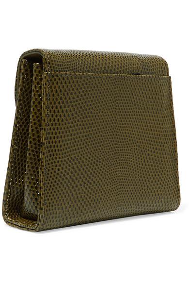 Little Liffner D Tiny Box Schultertasche aus Leder mit Eidechseneffekt Verkauf Erhalten Zu Kaufen Shop Für Günstige Online Freies Verschiffen Kaufen PMc8ya28