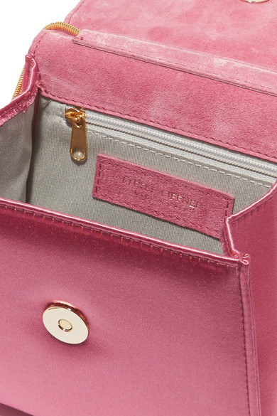 Little Liffner D Tiny Box Schultertasche aus Satin Einen Günstigen Preis l6ukBT