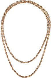 1890s 14-karat gold necklace