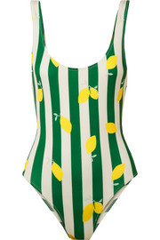 Solid and Striped The Anne-Marie printed swimsuit