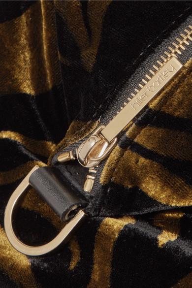 Spielraum Online-Shop Hillier Bartley Lantern Beutel aus Samt mit Zebraprint und Leder 2018 Günstig Online Ausgang Erhalten Authentisch Verkauf Erstaunlicher Preis Billig Verkauf Rabatte 6IWoG4jpt