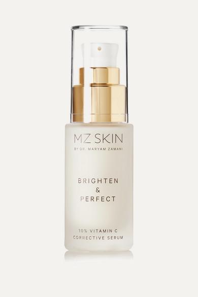 MZ SKIN BRIGHTEN & PERFECT 10% VITAMIN C CORRECTIVE SERUM, 30ML - COLORLESS