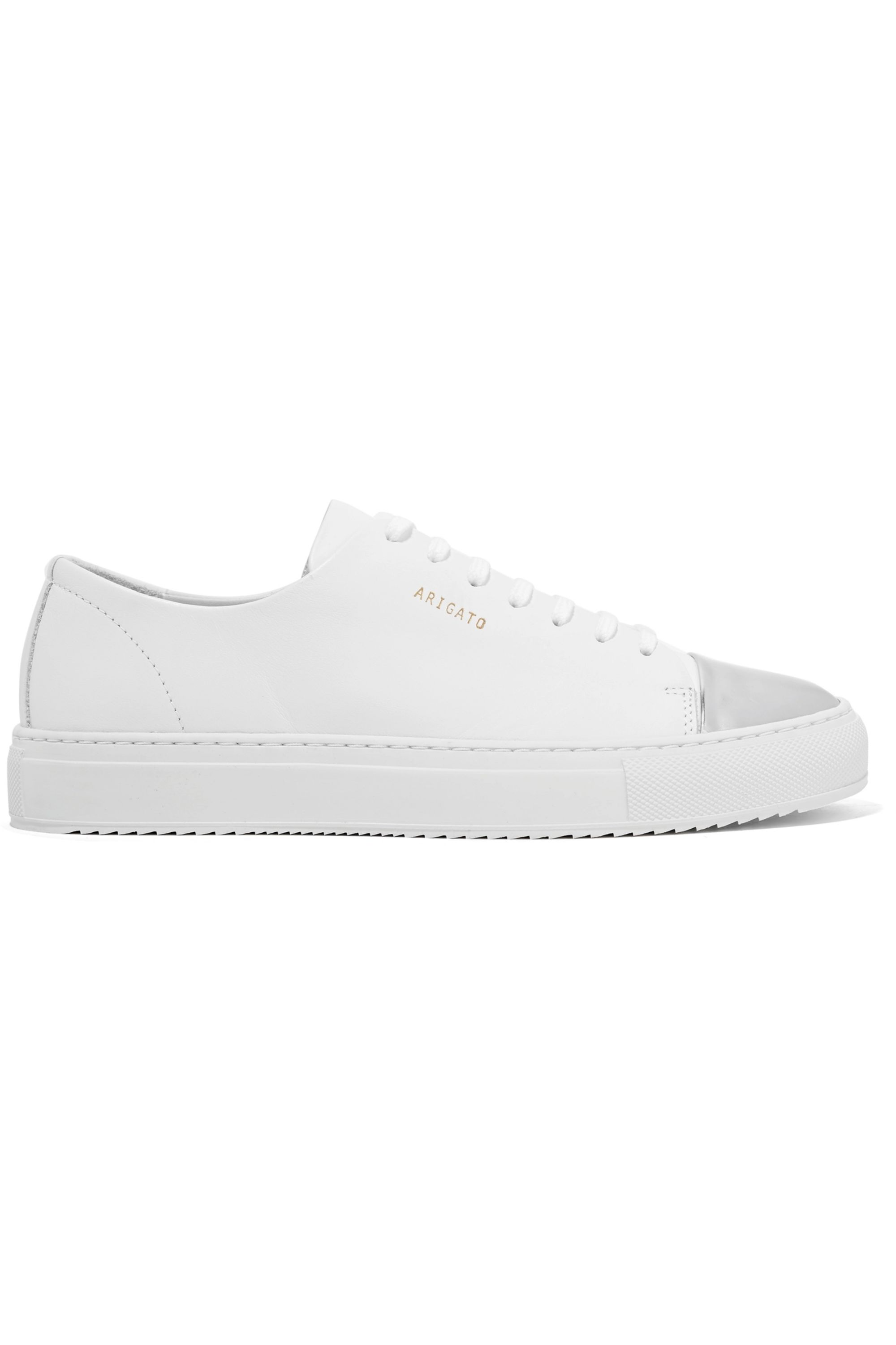 Axel Arigato Metallic-trimmed leather sneakers