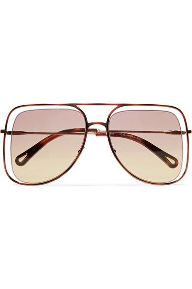 Chloé Sonnenbrille POPPY kI8c7TV3Vb