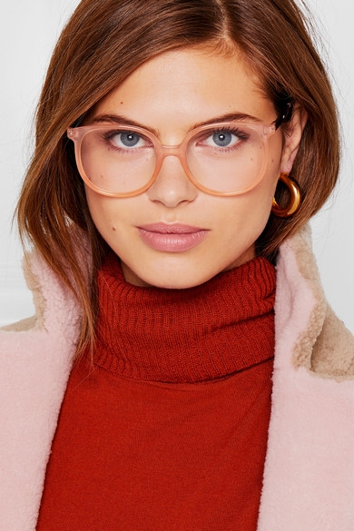Chlo 233 Myrte Square Frame Acetate And Gold Tone Optical