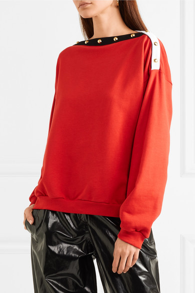 Philosophy di Lorenzo Serafini Bedrucktes Sweatshirt aus Baumwoll-Jersey mit Verzierungen Billig Verkauf 100% Original Ja Wirklich Outlet Angebote aok9hJJYu