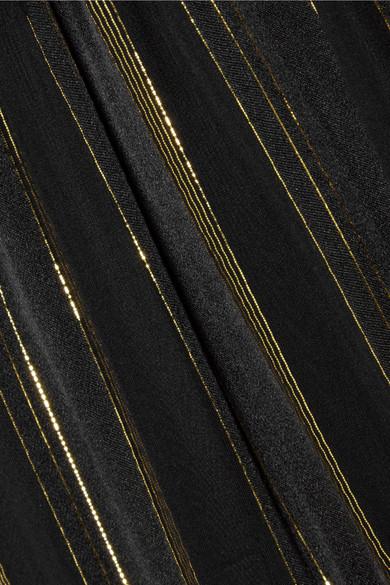 Billig Verkauf 2018 Steckdose Breite Palette Von Philosophy di Lorenzo Serafini Maxirock aus einer Seidenmischung mit Streifen in Metallic-Optik d9Usw