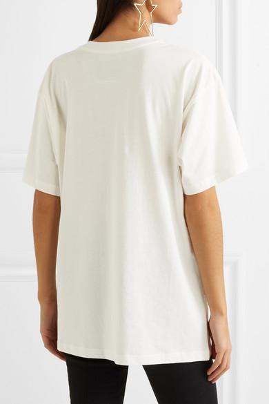 Moschino + Betty Boop Oversized-T-Shirt aus bedrucktem Baumwoll-Jersey