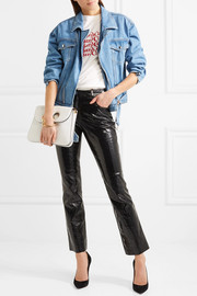 Moschino Denim biker jacket