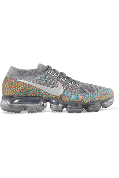outlet store 12bab 1874e Nike Air Vapormax Flyknit Sneakers In Gray