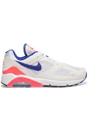 Air Max 180 felt and mesh sneakers