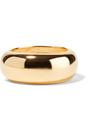 Kenneth Jay Lane Gold-plated bangle
